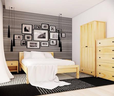 Poważnie Drewniane meble do sypialni Prest - serdecznie zapraszamy do zakupu OH69